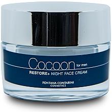 Fragrances, Perfumes, Cosmetics Men Face Cream - Fontana Contarini Cocoon Restore+ Night Face Cream