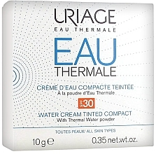 Fragrances, Perfumes, Cosmetics Compact Cream Powder - Uriage Eau Thermale Water Tinted Cream Compact SPF30