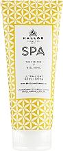 Fragrances, Perfumes, Cosmetics Ultra Light Body Lotion - Kallos Cosmetics Spa Ultra Light Body Lotion