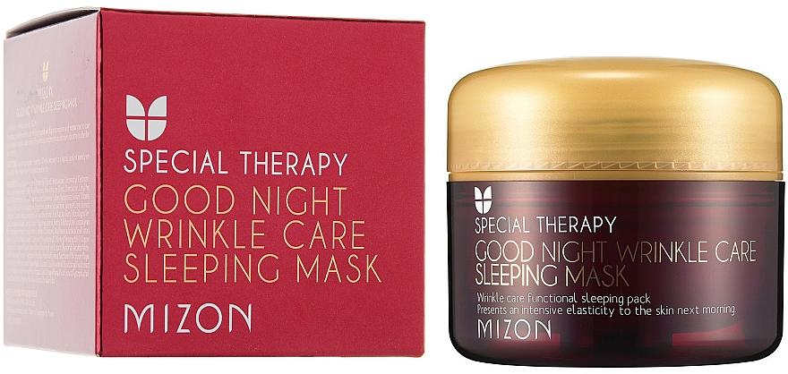 Nourishing Anti-Wrinkle Retinol Night Mask - Mizon Good Night Wrinkle Care Sleeping Mask
