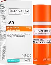 Fragrances, Perfumes, Cosmetics Sunscreen Fluid for Oily Skin - Bella Aurora Sunscreen Gel Oily Skin SPF50+