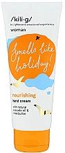 Fragrances, Perfumes, Cosmetics Nourishing Hand Cream with Tangerine Scent - Kili·g Woman Nourishing Hand Cream