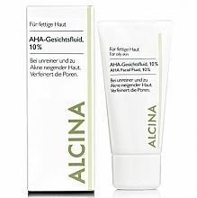 Fragrances, Perfumes, Cosmetics Face Fluid - Alcina Fm Aha Fluid