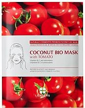 Fragrances, Perfumes, Cosmetics Biocellulose Face Mask - Leaders Coconut Bio Tomato Mask