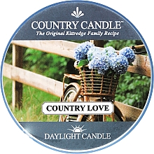 Fragrances, Perfumes, Cosmetics Tea Light Candle - Country Candle Country Love