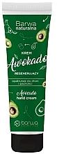 Fragrances, Perfumes, Cosmetics Regenerating Hand and Nail Cream - Barwa Natural Avocado Hand Cream