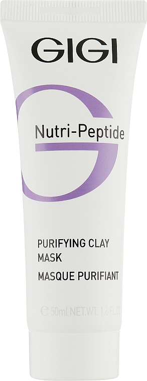 Cleansing Clay Mask - Gigi Nutri-Peptide Purifying Clay Mask — photo N1