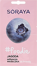 Fragrances, Perfumes, Cosmetics Blueberry Face Mask - Soraya Foodie Nourishing Face Mask