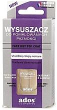 Fragrances, Perfumes, Cosmetics Fast Dry Top Coat - Ados Fast Dry Top Coat