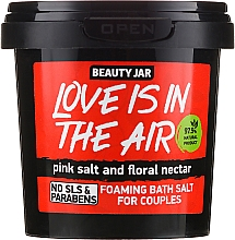 "Fragrances, Perfumes, Cosmetics Foaming Bath Salt ""Love is in the Air"" - Beauty Jar Foaming Bath Salt"