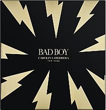 Fragrances, Perfumes, Cosmetics Carolina Herrera Bad Boy - Set (edt/100ml + sh/gel/100ml)