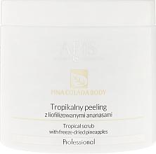 Fragrances, Perfumes, Cosmetics Tropical Freeze-Dried Pineapple Scrub - Apis Professional Pina Colada Body Tropical Scrub