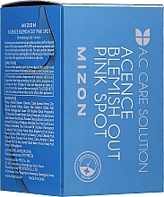 Fragrances, Perfumes, Cosmetics Anti-Acne and Inflamations Effective Night Treatment - Mizon Acence Blemish Out Pink Spot