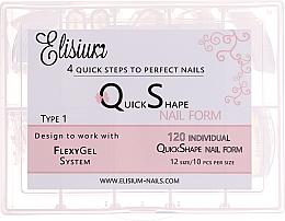 """Fragrances, Perfumes, Cosmetics Reusable Nail Tips """"Type 1"""" - Elisium"""