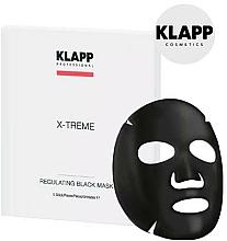 Fragrances, Perfumes, Cosmetics Regulating Black Mask - Klapp X-Treme Regulating Black Mask