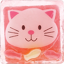 "Fragrances, Perfumes, Cosmetics Glycerin Soap ""Kitten"" - Chlapu Chlap Glycerine Soap"