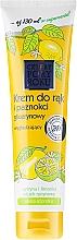 Fragrances, Perfumes, Cosmetics Hand Cream with Lemon - Cztery Pory Roku Hand Cream