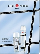 Fragrances, Perfumes, Cosmetics Coty Pret-a-Porter - Set (deo/spray/75ml+deo/200ml)