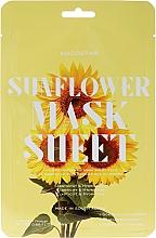 "Fragrances, Perfumes, Cosmetics Facial Sheet Mask ""Sunflower"" - Kocostar Slice Mask Sheet Sunflower"