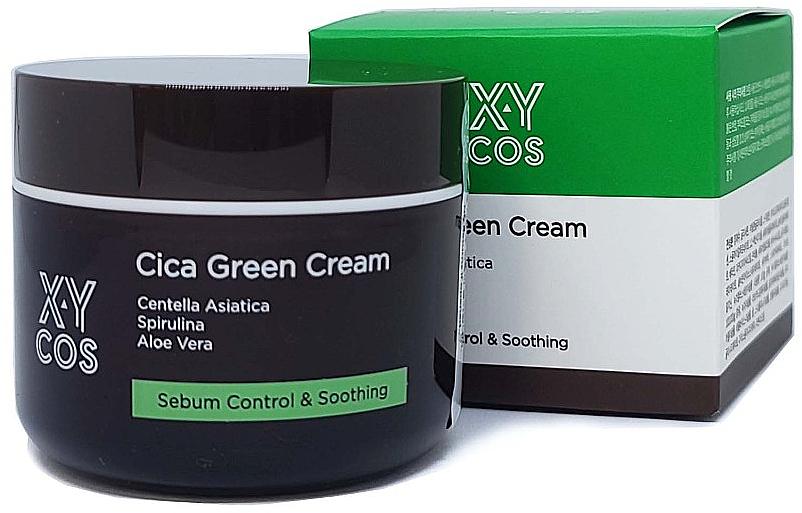 Centella Asiatica Face Cream - XYcos Cica Green Cream — photo N1