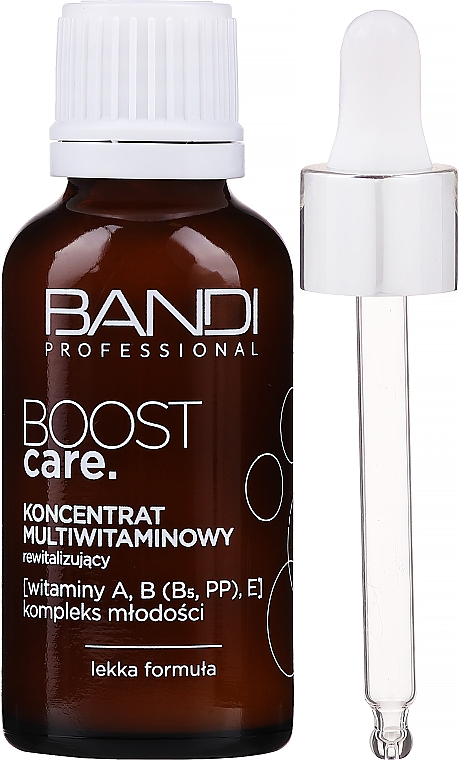 Revitalizing Face Concentrate - Bandi Professional Boost Care Revitalizing Multivitamin Concentrate — photo N1