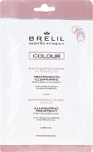 Fragrances, Perfumes, Cosmetics Express Mask for Colored Hair - Brelil Bio Treatment Colour Biothermic Mask Tissue