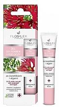 Fragrances, Perfumes, Cosmetics Lid and Under Anti-Aging Eye Gel with Eyebright and Algae - Floslek Lid And Under Eye Gel With Eyebright And Algae