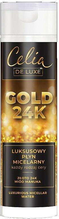 Luxurious Micellar Water - Celia De Luxe Gold 24k
