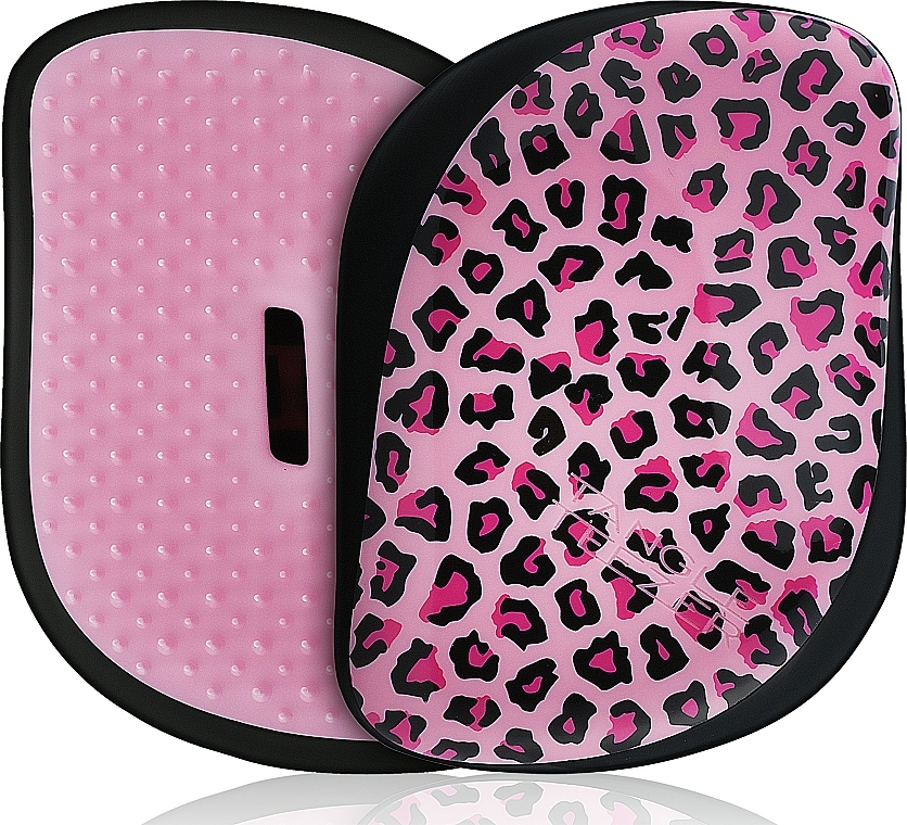 Hair Brush - Tangle Teezer Compact Styler Pink Kitty Mobile Brush