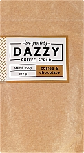 """Fragrances, Perfumes, Cosmetics Coffee Face and Body Scrub """"Coffee and Chocolate"""" - Dazzy Coffee Face & Body Scrub Coffee & Chocolate"""
