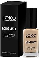 Fragrances, Perfumes, Cosmetics Foundation - Joko Long Matt