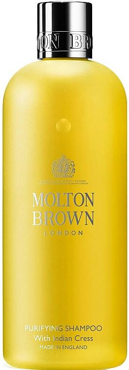 Cress-Salad Hair Shampoo - Molton Brown Purifying Shampoo With Indian Cress