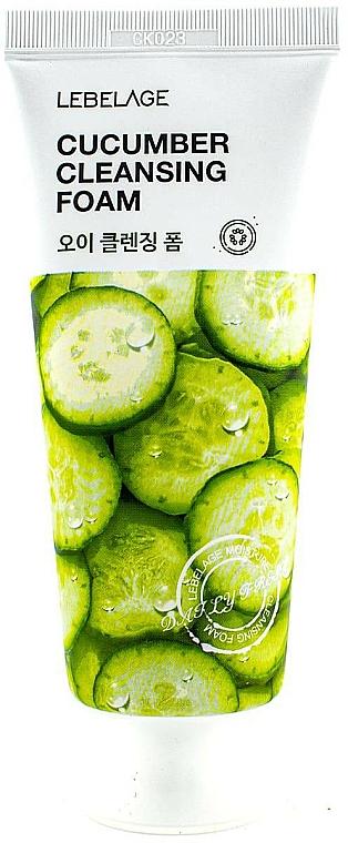 """Cleansing Foam """"Cucumber"""" - Lebelage Cucumber Cleansing Foam"""
