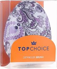 Hair Brush, 63947, purple - Top Choice Detangler — photo N4