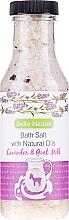 "Fragrances, Perfumes, Cosmetics Bath Salt ""Lavender and Goat's Milk"" - Belle Nature Bath Salt"