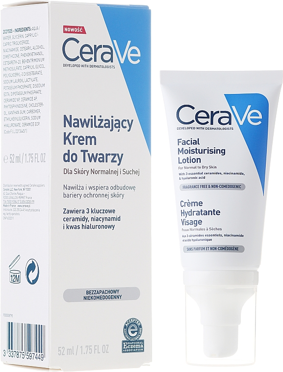 Moisturizing Lotion for Normal & Dry Skin - CeraVe Facial Moisturizing Lotion