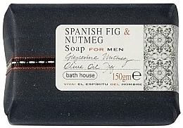 Fragrances, Perfumes, Cosmetics Bath House Spanish Fig and Nutmeg - Perfumed Soap