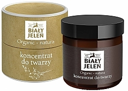 Fragrances, Perfumes, Cosmetics Face Concentrate - Bialy Jelen Organic-Nature