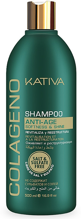 Repair Collagen Shampoo - Kativa Colageno Shampoo