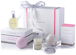 Fragrances, Perfumes, Cosmetics Set - AromaWorks Nurture Body Indulgence Gift Set (bath/bomb/2x250g + candle/75g + b/oil/100ml + flannel)