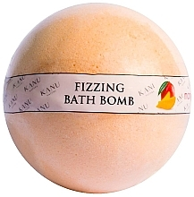"Fragrances, Perfumes, Cosmetics Bath Bomb ""Mango"" - Kanu Nature Bath Bomb Mango"