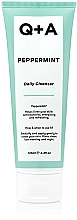 Fragrances, Perfumes, Cosmetics Mint Face Cleanser - Q+A Peppermint Daily Cleanser