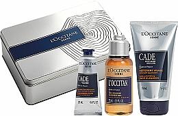 Fragrances, Perfumes, Cosmetics Set - L'Occitane Cade Men Set (fluid/20ml + sh/ge/75g + f/cleanser/150ml)
