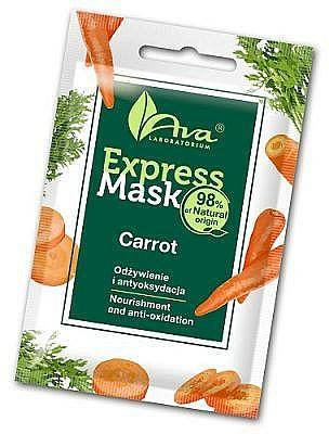 Carrot Face Mask - Ava Laboratorium Beauty Express Mask Carrot