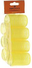 "Fragrances, Perfumes, Cosmetics Velcro Hair Curlers ""Velcro"" 35mm, 7pcs, 0355 - Top Choice"