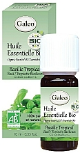Fragrances, Perfumes, Cosmetics Organic Tropical Basil Essential Oil - Galeo Organic Essential Oil Basilic Tropical