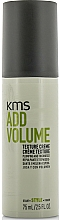Fragrances, Perfumes, Cosmetics Styling Hair Cream - KMS California Addvolume Texture Creme