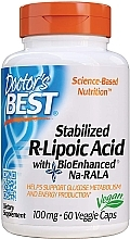 Fragrances, Perfumes, Cosmetics Stabilized R-Lipoic Acid, 100mg, capsules - Doctor's Best
