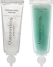 Fragrances, Perfumes, Cosmetics Lactic Acid and Copper Two-Step Peeling - Omorovicza Copper Peel