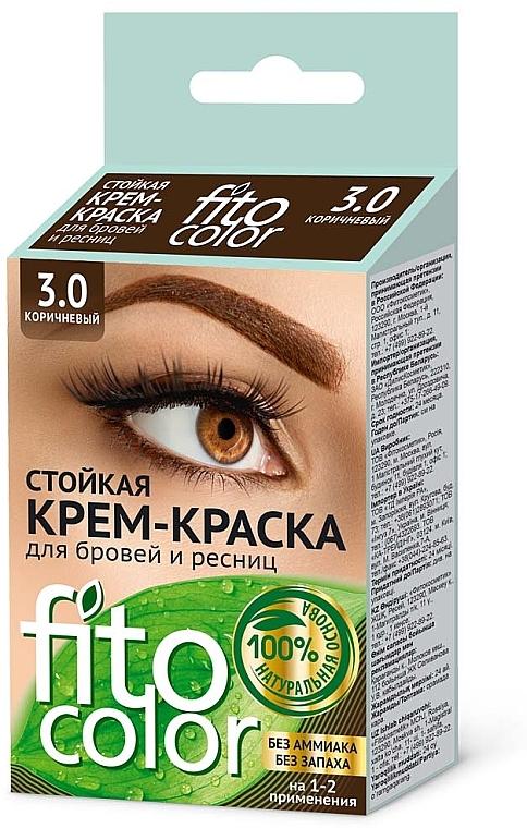 Permanent Brow and Lash Cream-Color - Fito Cosmetics FitoColor